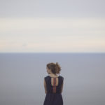 woman by sea